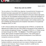 March 2019 COPM Newsletter