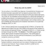 March 2019 COPM Newsletter