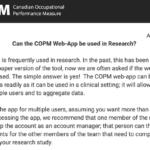 COPM August 2019 Newsletter