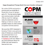 October 2019 COPM Newsletter